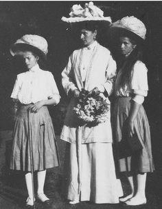 Tatiana, Alexandra and Olga