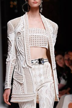 Balmain Spring 2013 RTW - Review - Fashion Week - Runway, Fashion Shows and Collections - Vogue - Vogue