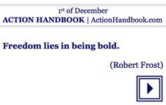 Act!  ACTION HANDBOOK [Lifetime Version]  For your every day of any year.  #ebook #quoteoftheday #mondaymotivation