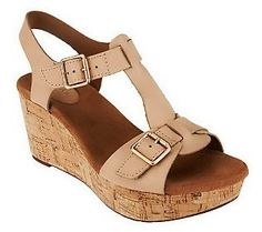 Strappy, sexy and sophisticated #wedges from Clarks.