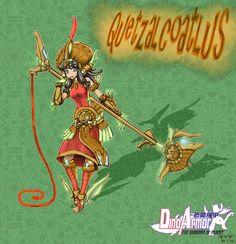 [DinoArmor]-00 始源羽蛇神 原型:風神翼龍(Quetzalcoatlus)