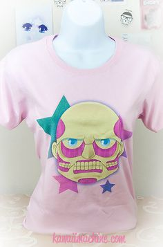 This is pretty awesome. Pastel no Kyoujin Attack on Titan Colossal by thekawaiimachine, $22.00