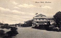 Manor Hotel Mombasa 1945