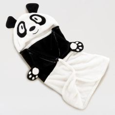 One of my favorite discoveries at WorldMarket.com: Panda Hooded Wrap...if only it came in my size!