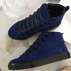 Men Suede Balenciaga Sneaker