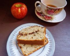 try my recipe for apple tea bread! Perfect with your morning cuppa!