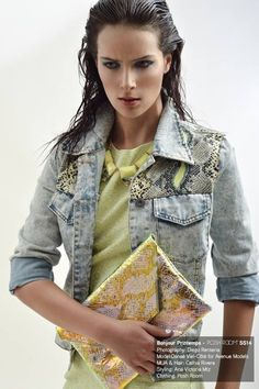 Fashion editorial for Posh Magazine featuring the Audrey Clutch. Photography: Diego Rentería. Model: Danaé Viel-Côté for Avenue Models. MUA & Hair: Cathia Rivera. Styling: Ana Victoria Mtz. Clothing: Posh Room. #SARAFREIKA #Bag #Editorial. ......................................................................................................... Editorial de moda para Posh Magazine con nuestro Clutch Audrey.
