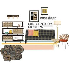 modern retro living with mid-century modern style