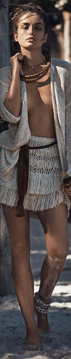 Andreea Diaconu by Lachlan Bailey for Vogue Paris - May 2015...BOHO