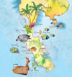Voyage en Thaïlande : Préparer son itinéraire: