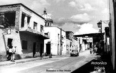 Calle de Atotonilco El Alto Jalisco Mexico