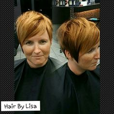 Hair By Lisa A copper and deep Red Base with Peach Highlights  Schwarzkopf Professional