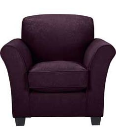 Buy Caitlin Chair - Plum at Argos.co.uk - Your Online Shop for Armchairs and chairs.