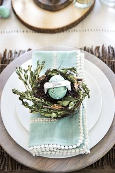 These 15 farmhouse style Easter decor ideas will inspire you to decorate your home and porch for Easter!