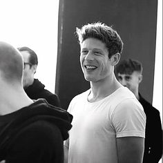 Just James Norton, James Norton in the Smythson campaign.  Hello gorgeous