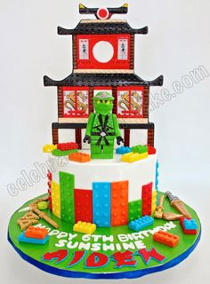 Celebrate with Cake!: Ninjago Fire Temple