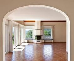 Terracotta tiles can be matched with a variety of Behr house colors.