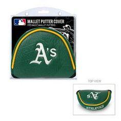 Oakland Athletics MLB Mallet Putter Cover