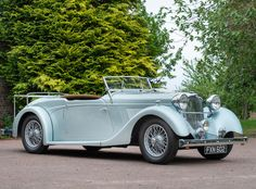 1939 Lea-Francis Super Sports Roadster Chassis no. Vintage Cars, Antique Cars, Gt Cars, Sports Models, Super Sport, Motor Car, 1940s, Classic Cars, British