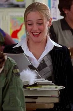 """Here's a glimpse at Cher: The College Years. 