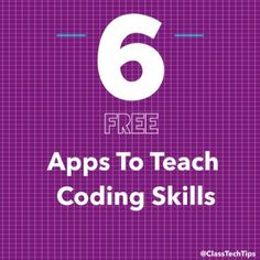 6 Free Apps to Teach Coding Skills