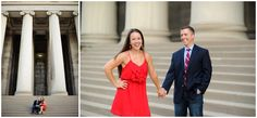 Nicole + Jason | Pittsburgh Engagement Photos - Pittsburgh Wedding Photography - Alison Mish Photography | University of Pittsburgh engagement session | Pitt engagement session