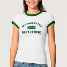 Matheletics Department T-shirt - click to get yours right now!