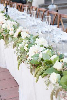 Photography: Allyson Wiley Photography - www.allysonwiley.com  Read More: http://www.stylemepretty.com/california-weddings/2014/05/24/romantic-garden-inspired-wedding/