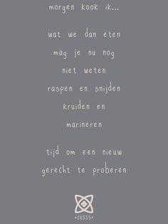 Zusss l Morgen kook ik... l www.zusss.nl