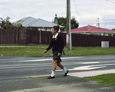 Edith Amituanai, Morning Leg, from The End of My Driveway, 2011