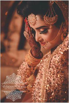 Bride make over Indian Wedding Bride, Indian Wedding Photos, Wedding Couples, Indian Bridal Fashion, Indian Bridal Makeup, Indian Wedding Photography, Wedding Photography Poses, Girl Photography, Photography Ideas