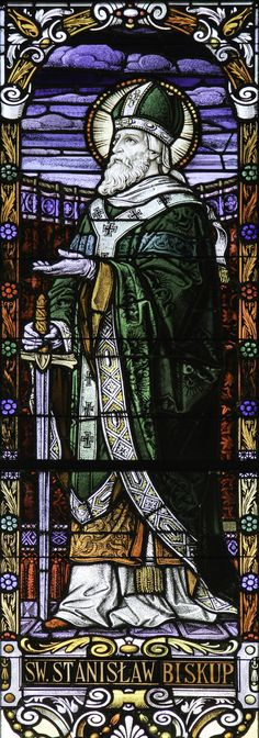 https://flic.kr/p/G5cmVx   St Stanislaus   St Stanislaus was born in Szczepanów in Poland in about 1036. He studied at Liège, was ordained, and in 1072 became bishop of Kraków. He ruled the church as a good shepherd, gave help to the poor, and performed annual visitations to supervise the clergy. He reproached King Bolesław II for his crimes and vices and at length excommunicated him. Bolesław sought him out, and murdered him as he was celebrating Mass on 8 May 1079.  Today, 11th April is…
