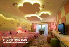 Best Kids Room Ceiling And False For In Creative Designs Ideas With Lighting 10 Cool