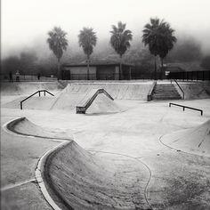 Marine Layer Mornings // Empty Skatepark Sessions