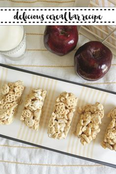 Make delicious cereal bars with this simple recipe from Everyday Party Magazine #CerealBars #Recipe