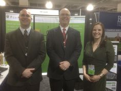 Gregg Browinski, Mark Cochran and Kimberly Johnson at one of the tradeshows PortalGuard exhibited at. For more information, please visit: portalguard.com/