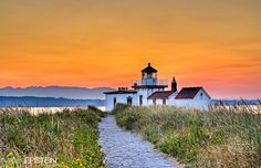 Seattle's Discovery Park: Walking to the Lighthouse by Mark Epstein, via 500px