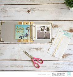 Instagram Mini Album Tutorial by Gina Lideros
