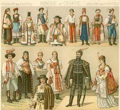 """Венгерский национальный костюм. . """"Джойссанс"""" - старинные костюмы и танцы"""