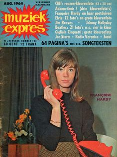 Muziek Expres, August 1964, volume 104. Front cover
