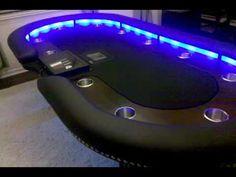 Custom Lighted Poker Table