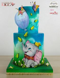 Best Indoor Garden Ideas for 2020 - Modern Pretty Cakes, Beautiful Cakes, Amazing Cakes, Crazy Cakes, Fancy Cakes, Unique Cakes, Creative Cakes, Dumbo Cake, Cake Paris