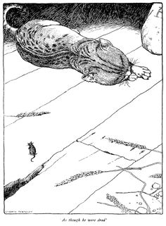 "'Puss in Boots' from ""Old-time Stories"" (1921) illustrated by William Heath Robinson"