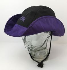 e8a4c67344a OR Outdoor Research Vintage 80 s Paddling Hat Hiking Goretex USA Large  Packable