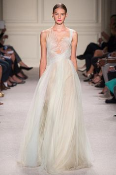 Marchesa–The red carpet queens have put their touch on this Grecian dress fit for a ceremony at Mt. Olympus