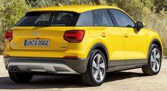 Audi 2016 Q2 #yellow