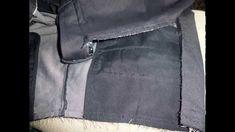 Como aumentar la cintura de un pantalón hasta 10 cms - YouTube