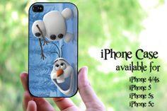 Olaf Disney Frozen design hard case for iPhone 4 by MilkyWayCases, $14.50