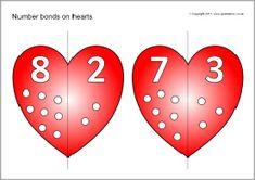 Verliefde harten, rekenen in groep 3 <3