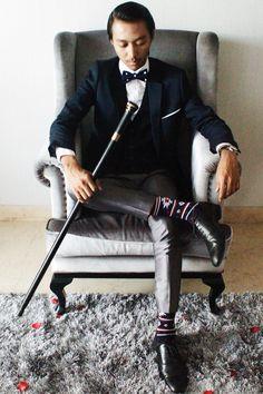 Fabian Satriana R on Edge of Glory. shot by Rifa Kharisma C. MUA & stylist: Rifa Kharisma C. #lookbook #gatsby #20s